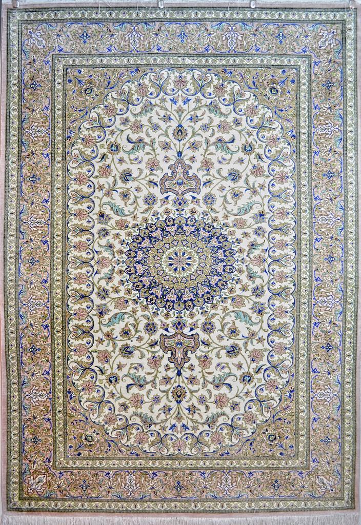 Qum Silk Persian Area Rug