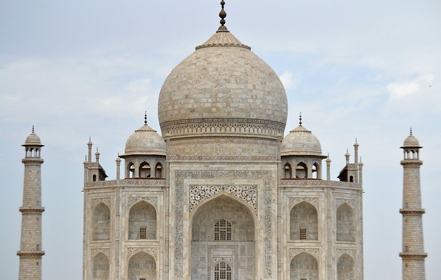 A picture of the Taj Mahal