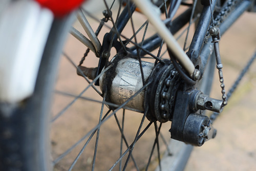 5-Speed Gearing, Early Brompton