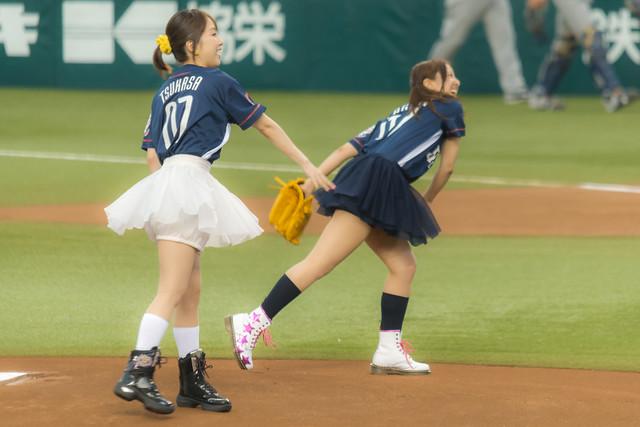 らき☆すたデー始球式