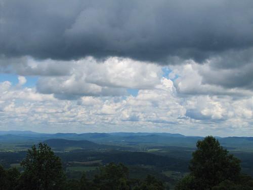 clouds virginia view blueridgeparkway