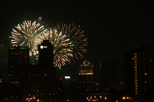 Fair St. Louis Downtown Fireworks Fourth of July