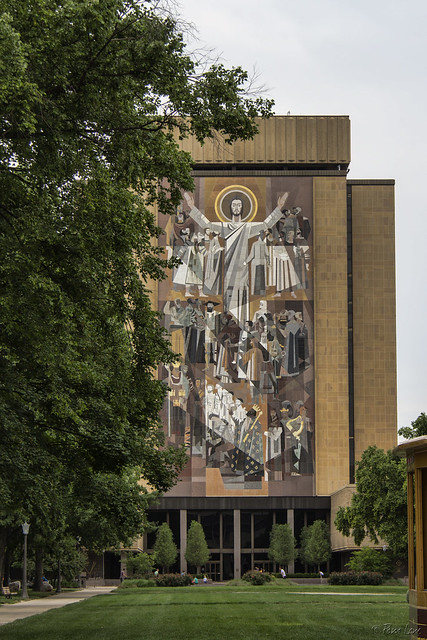 Notre Dame Touchdown Jesus