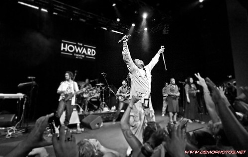 Reggae star Luciano at The Howard Theatre by DEMO PHOTOS by DeMond Younger