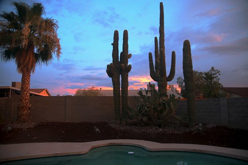 Phoenix Sunset After Thundershowers