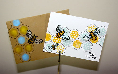 Bee Well with Matching Envelope