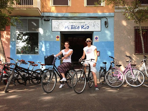 Visitare Madrid in bicicletta