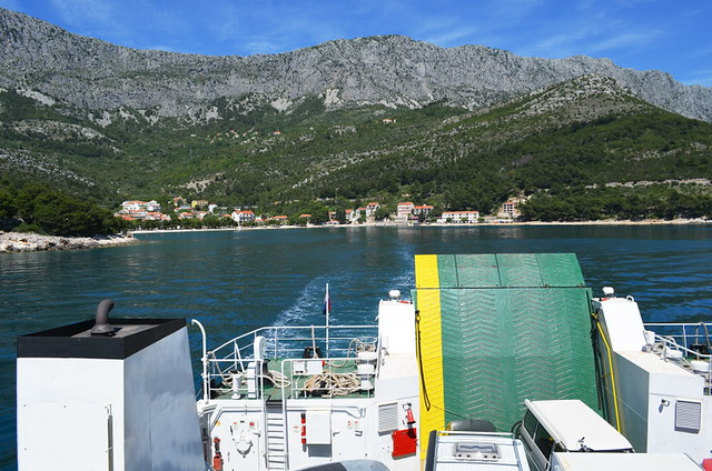 Ferry to Korcula