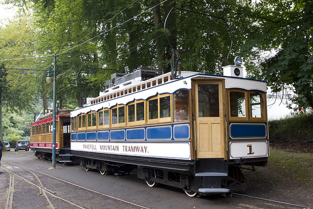 Snaefell Mountain Railway Car No.1