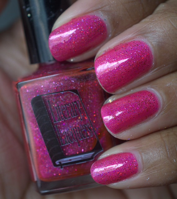 Literary Lacquers Raspberry Cordial