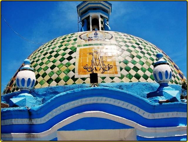 Templo santa mar a cuaco san andres cholula estado de for Jardin 3 marias puebla