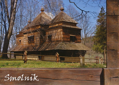 Wooden Tserkvas of the Carpathian Region in Poland and Ukraine