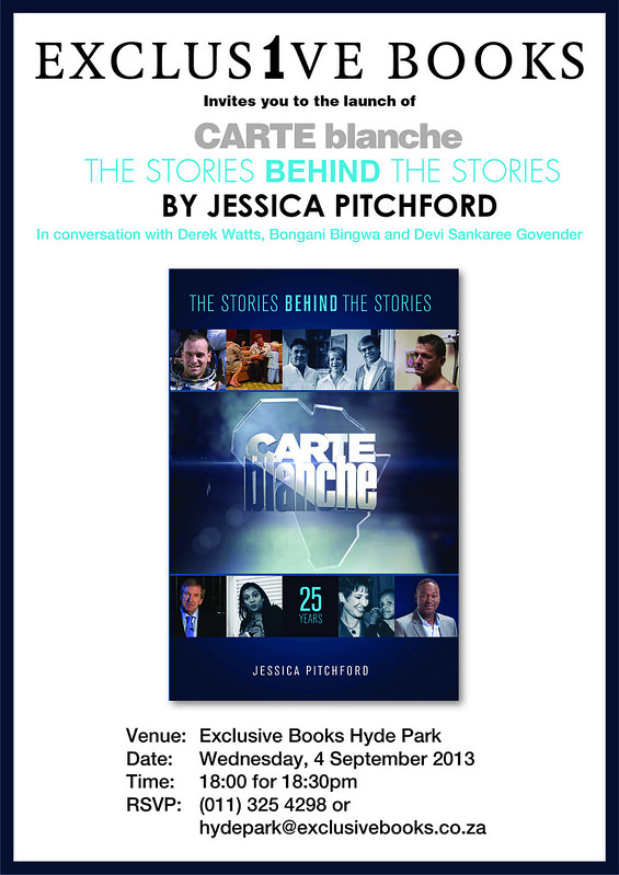 Invitation: Launch of Carte Blanche