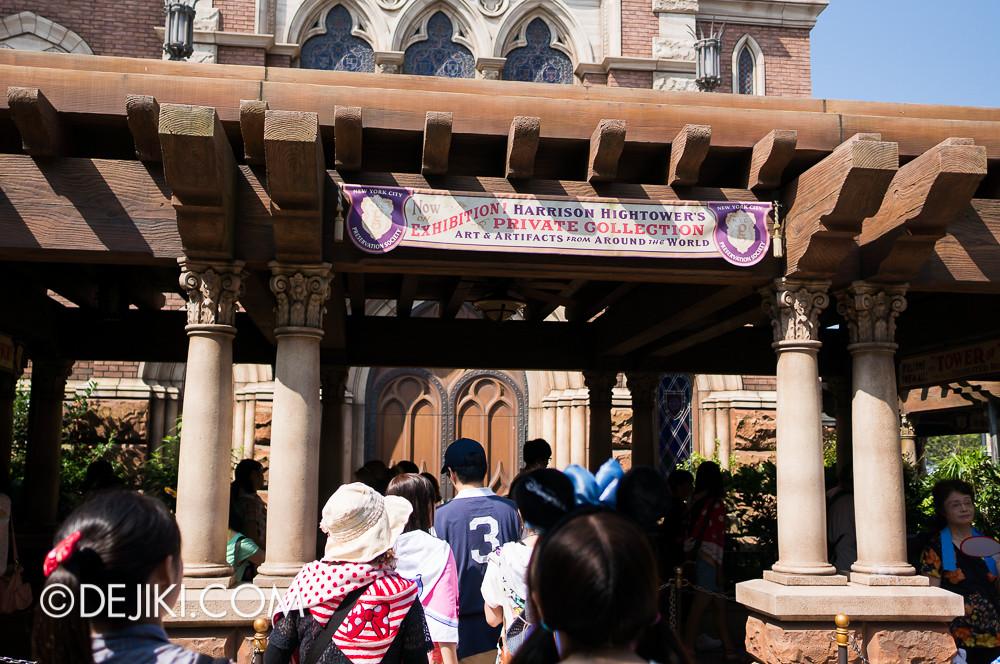 Tokyo DisneySea - Tower of Terror / Outdoor queue