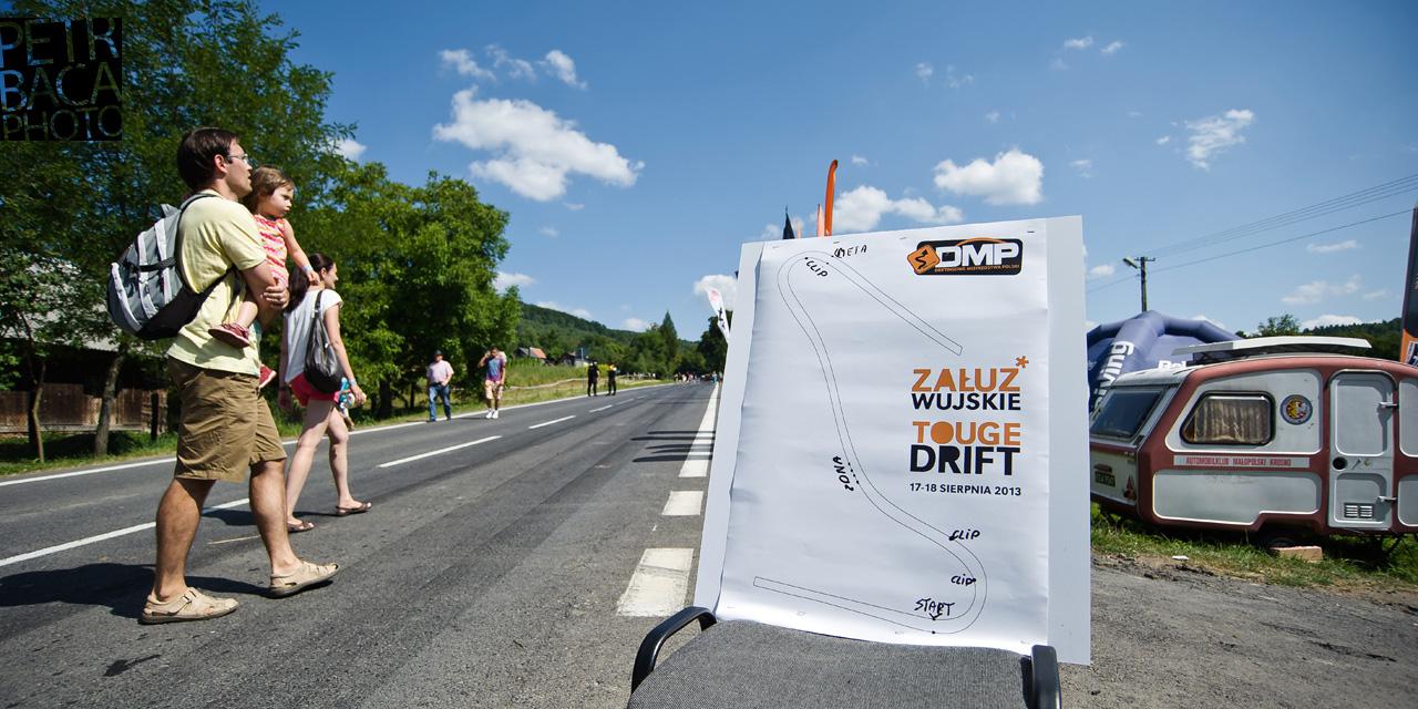 Driftingowe Mistrzostwa Polski 2013, DMP, Polska Federacja Driftingu, PFD, Załuż, Wujskie, Touge