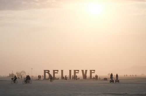 Believe! at the Burning Man