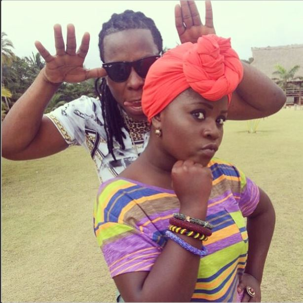 Edem and Kaakie video shoot