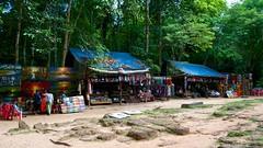 Angkor tourist tat vendors