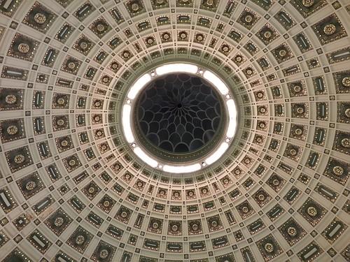 Old Stone Bank rotunda by lastonein