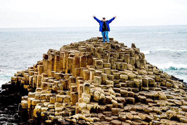 Meself On The Giant's Causeway