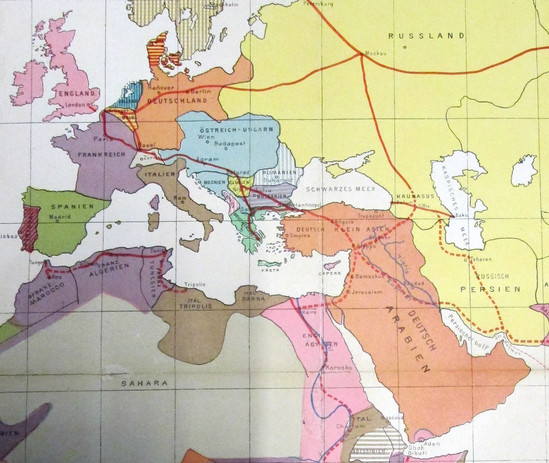 Afternoon Map Alternative Visions Of The Middle East