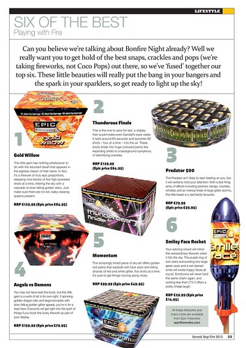 Epic Fireworks - Sorted Magazine 2013