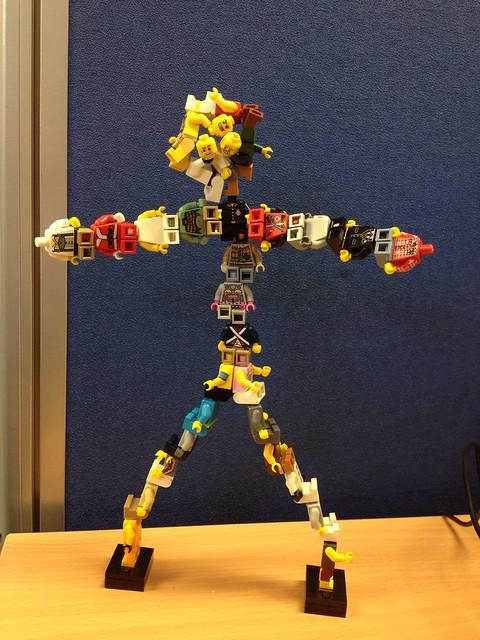 Lego Minifigure doodling