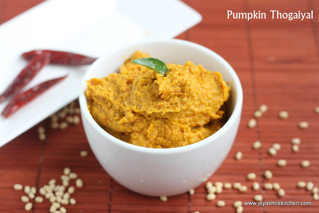 Pumpkin thogaiyal