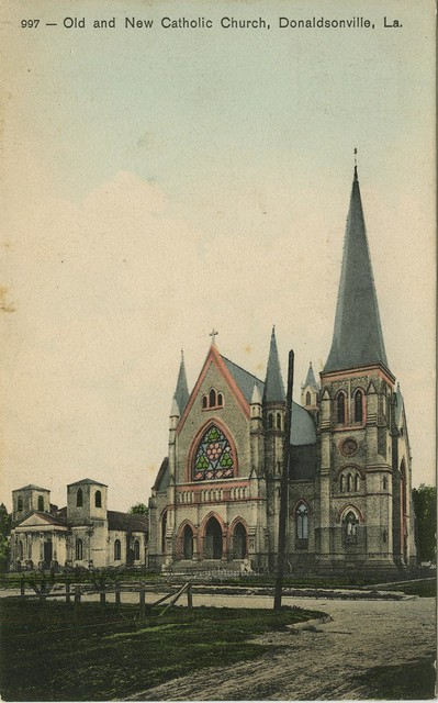 Catholic churches in Donaldsonville, Louisiana.