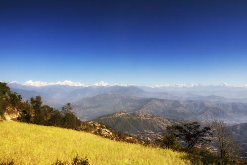 nepal landscape nagarkot himal langtang langtanghimal baluwapatideupur