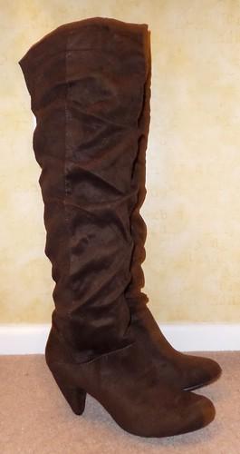Primark Brown OTK Boots