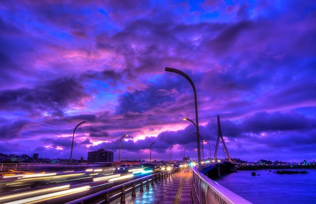 Purple Sunset 2013/10/4 | Okinawa