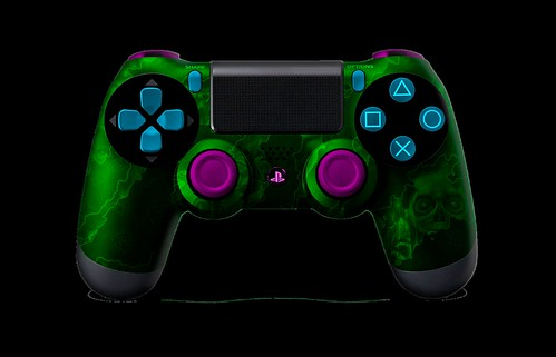 PS4Controller-GreenZombieHazard (1)