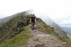 Grok on Mt. Snowdon