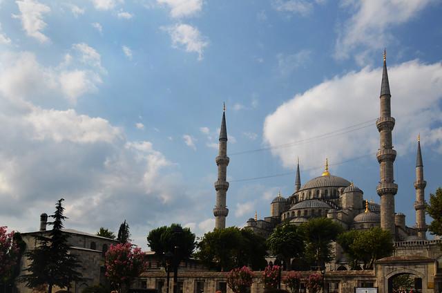 La espectacular e imprescindible Mezquita Azul