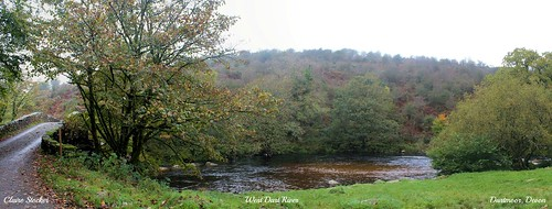 West Dart River, Dartmoor, Devon by www.stockerimages.blogspot.co.uk