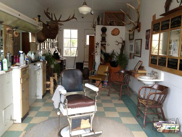 barber shop interior