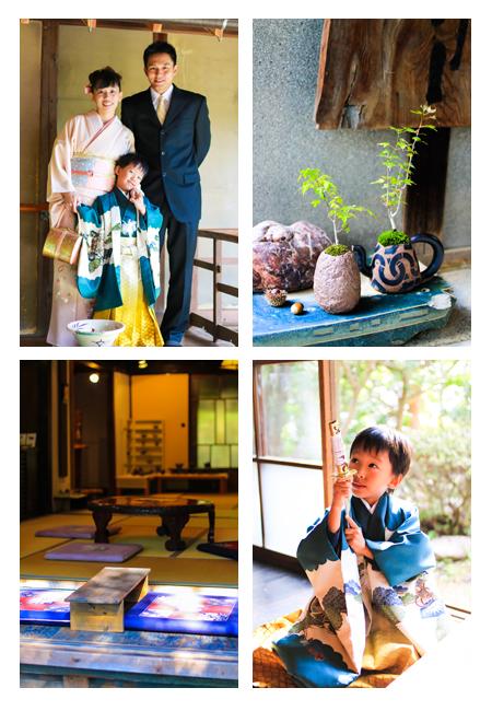 七五三写真 記念写真 愛知県瀬戸市 深川神社 窯垣の小径 出張撮影 屋外 家族写真 子供写真