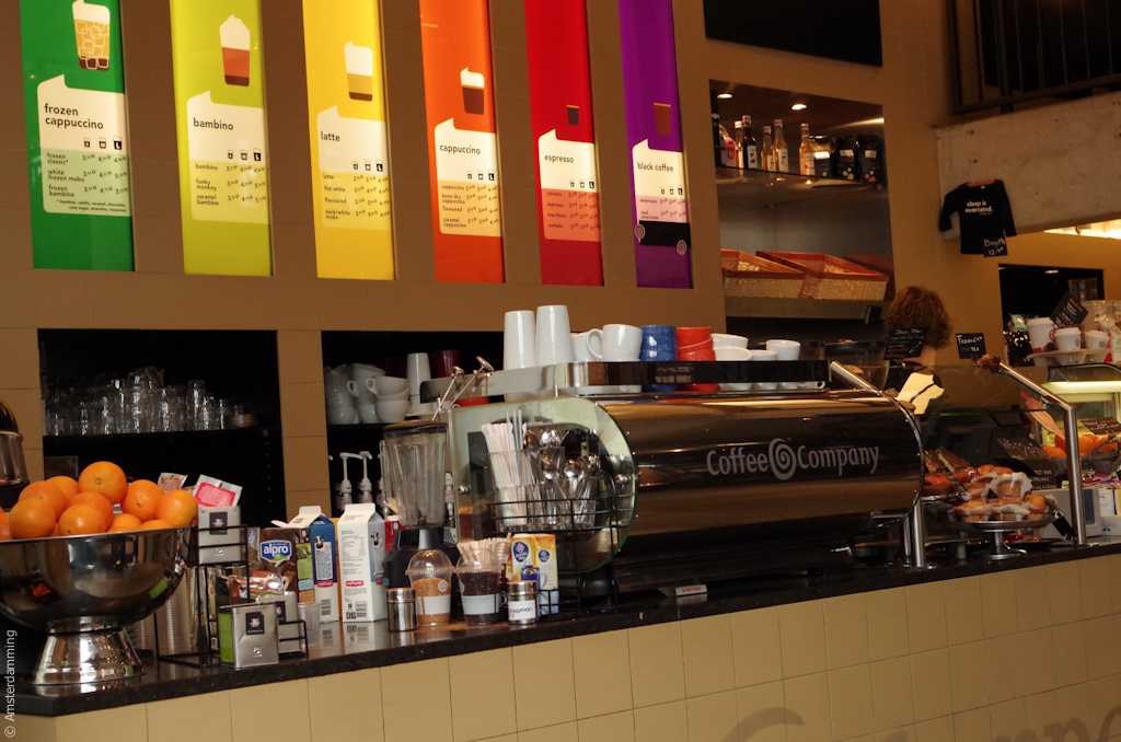 Amsterdam, Coffee Company Waterlooplein