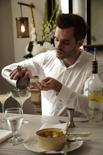 Nathan O'Neill pairs his cocktail with Mulligatawny soup