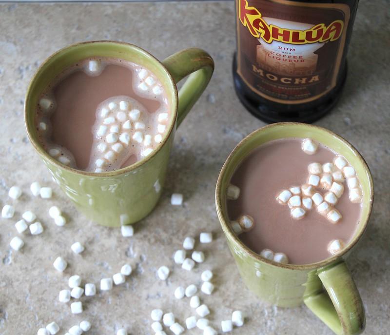 mocha kahlúa hot chocolate