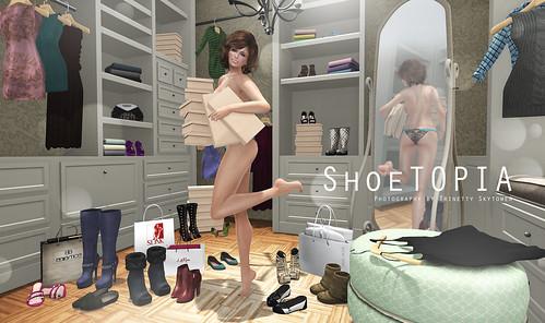{ My Closet } SHOETOPIA PREVIEW