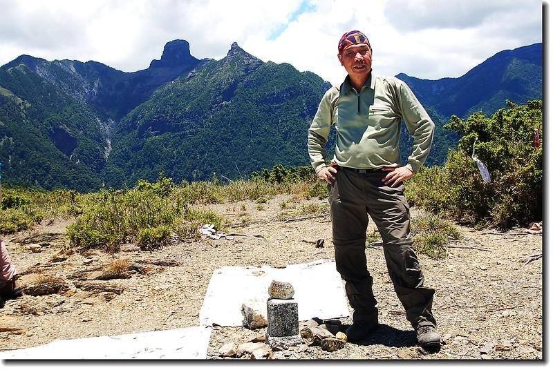 加利山山頂 1