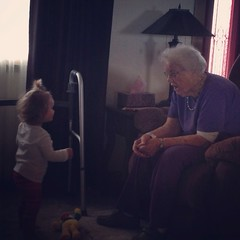 Layla and grandma