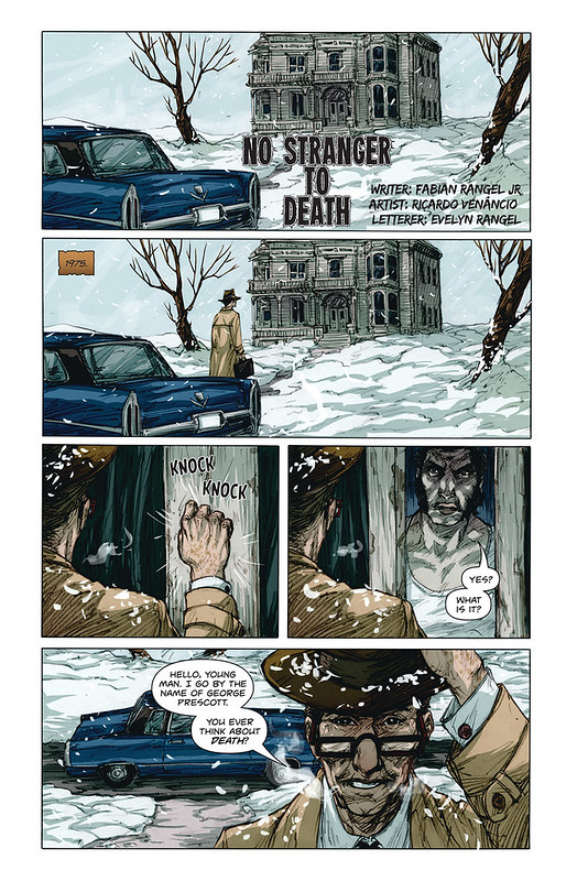 No Stranger to Death page 1