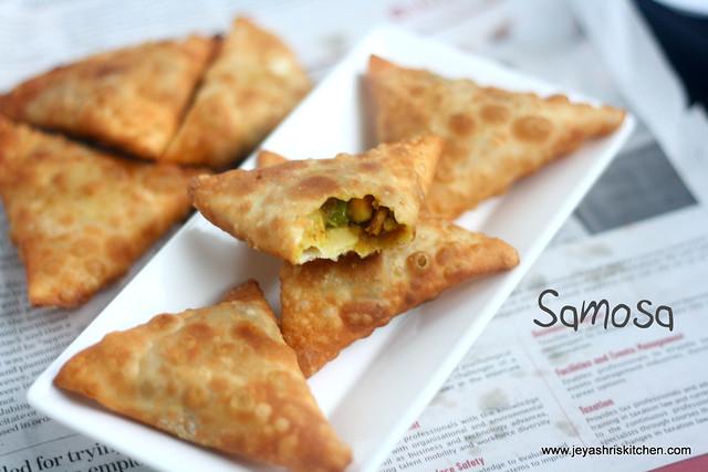 Onion Samosa Jeyashri S Kitchen