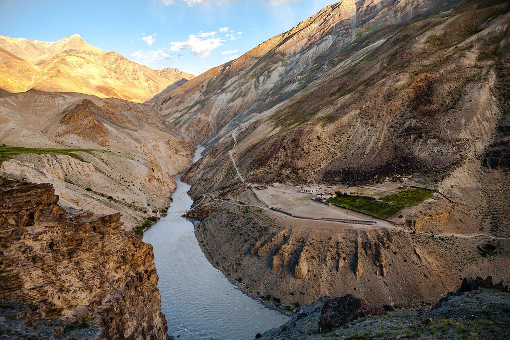 India - Enroute Phuktal monastery, Zanskar