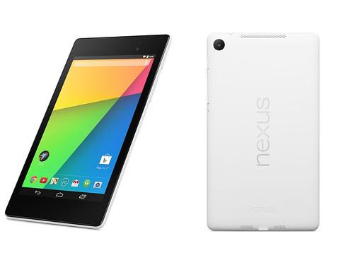 Nexus7(2013)白モデル 32GB