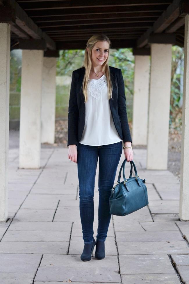 Outfit Silvester 2013 BLazer schick (6)