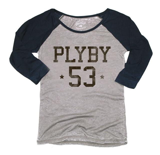 Sportiqe Womens Playboy PLYBY DANI Shirt